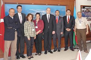 2010 Türkei-Reise mit der Geschäftsführung der InfraServ GmbH & Co. Knapsack KG bei der türkischen Petkim Petrokimya Holding A.S. in Aliaga-Izmir
