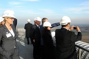 2007 Besuch der türk. Wirtschaftsdelegation aus Izmir bei der RWE Power AG (Kraftwerk Niederaußem)