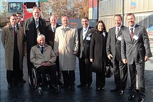 2008 Besuch der türk. Wirtschaftsdelegation beim Chemiepark Hürth-Knapsack
